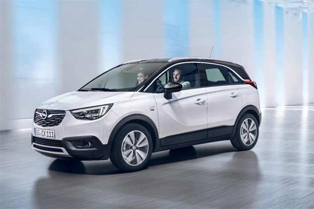 Novi Opel Crossland X
