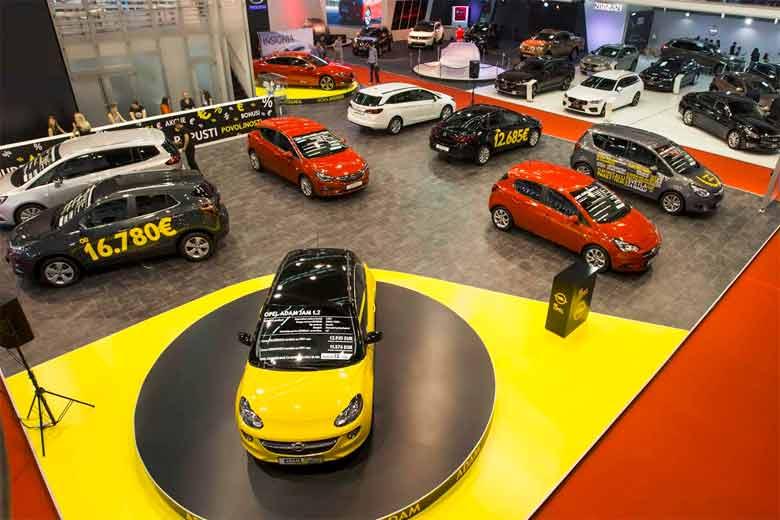 Opelov štand na ovogodišnjem sajmu automobila