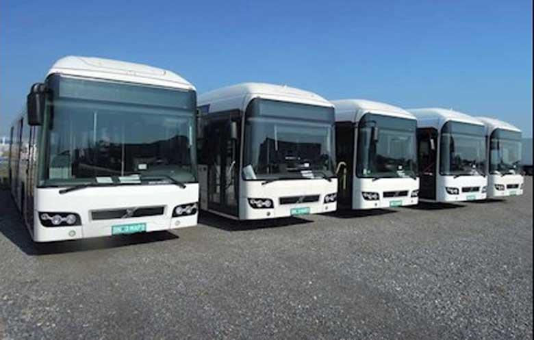 Volvo hibridni autobusi