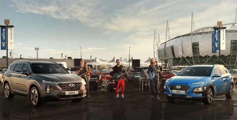 Hyundai doveo FIFA Svetski fudbalski muzej u Moskvu