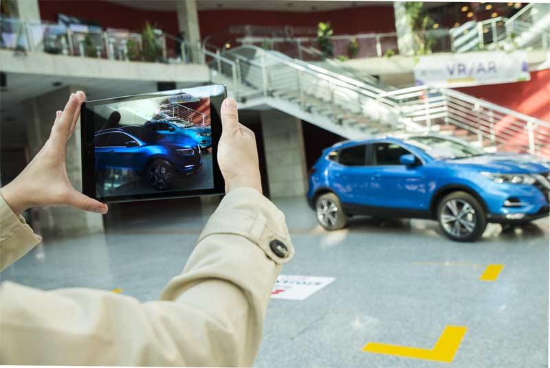 Stojanov Auto predstavlja AR Nissan Qashqai aplikaciju