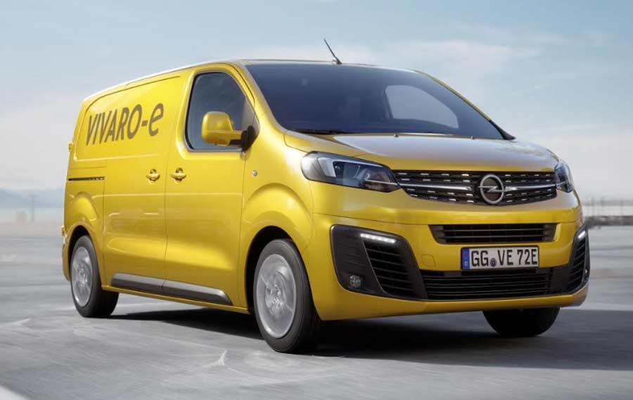 Opel Vivaro-e startuje u 2020: Uspešno lako komercijalno vozilo dobija električnu verziju